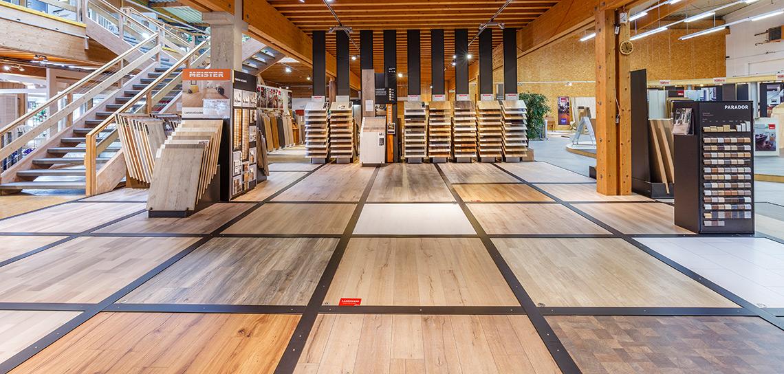 Bödenausstellung | HolzLand Stoellger in Langenhagen