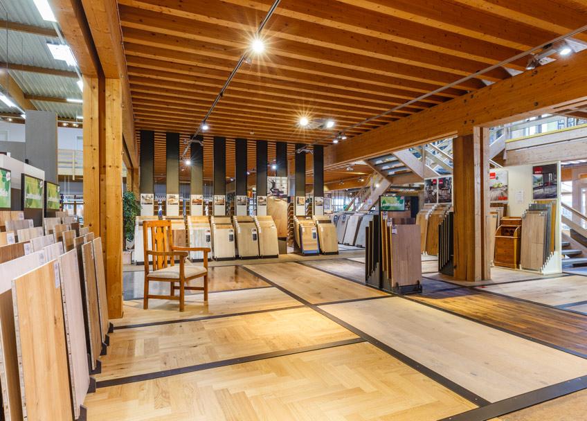Ausstellung zu Böden | HolzLand Stoellger in Langenhagen