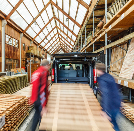 Bequemer Drive-in | HolzLand Stoellger in Langenhagen