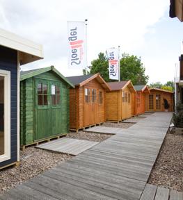 Gartenhäuser der Gartenausstellung | HolzLand Stoellger in Langenhagen