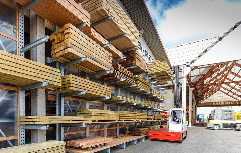 Hobelware, Lagersortiment | HolzLand Stoellger in Langenhagen