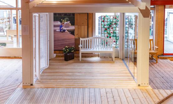 Terrassendielen der Gartenausstellung | HolzLand Stoellger in Langenhagen