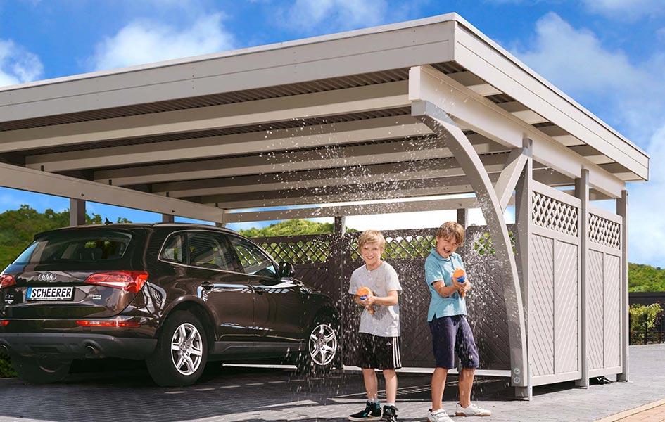 Carport aus Design-Leimholz | HolzLand Stoellger in Langenhagen
