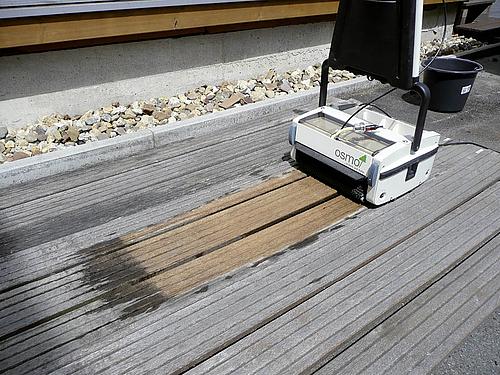 Die Terrassenreinigungsmaschine für Holzterrassen | HolzLand Stoellger in Langenhagen