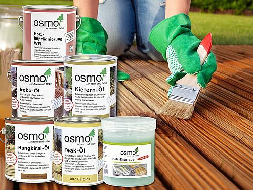 Pflegemittel und Holzschutzöle | HolzLand Stoellger in Langenhagen