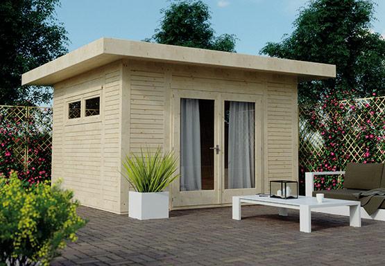 Gartenhaus mit Flachdach | HolzLand Stoellger in Langenhagen