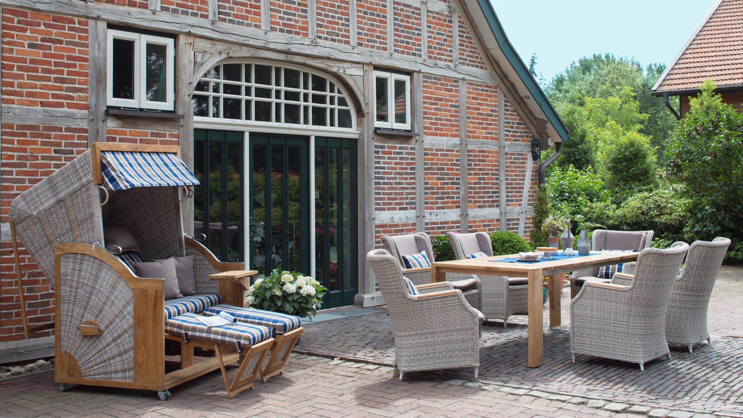 Komfortable Gartenmobel Holzland Stoellger In Langenhagen