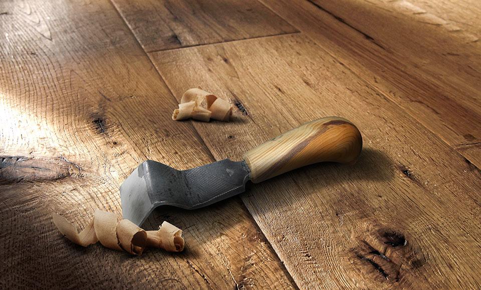 Handgehobelte Holzdielen der Artisan | HolzLand Stoellger in Langenhagen