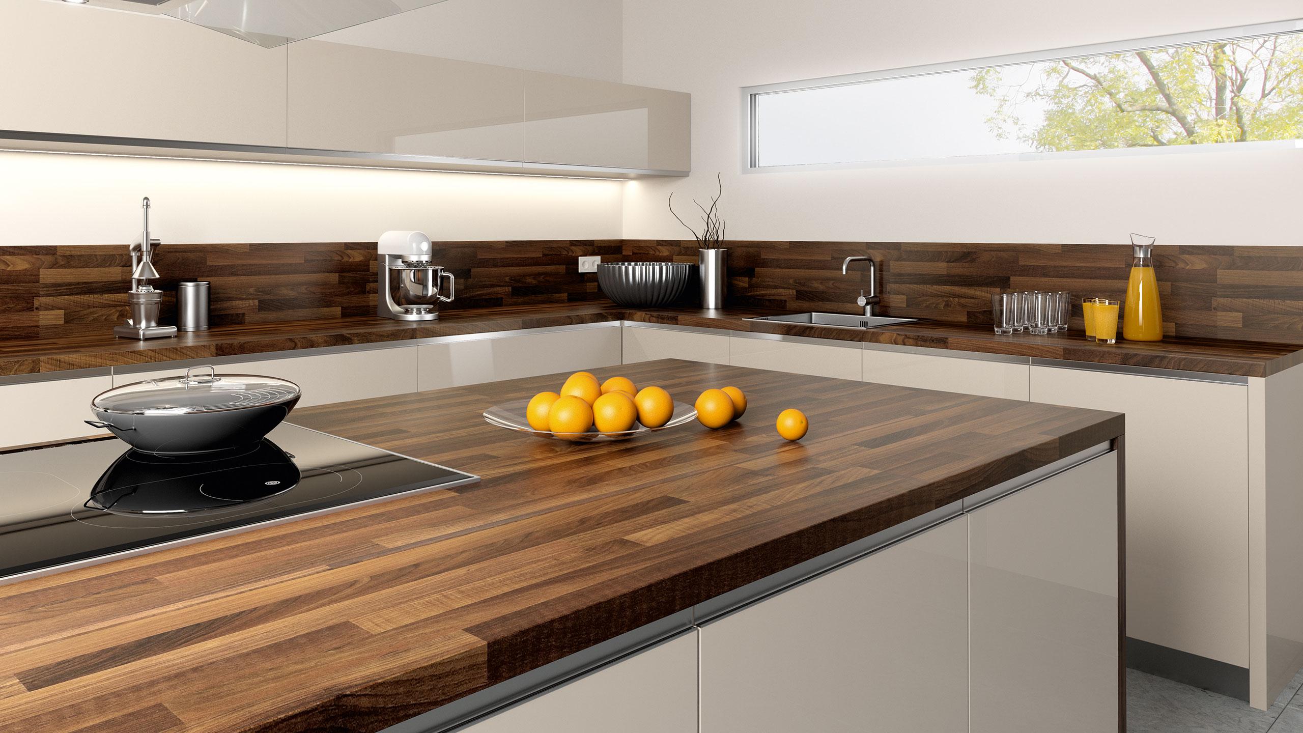 Arbeitsplatten für Deine Küche  HolzLand Stoellger