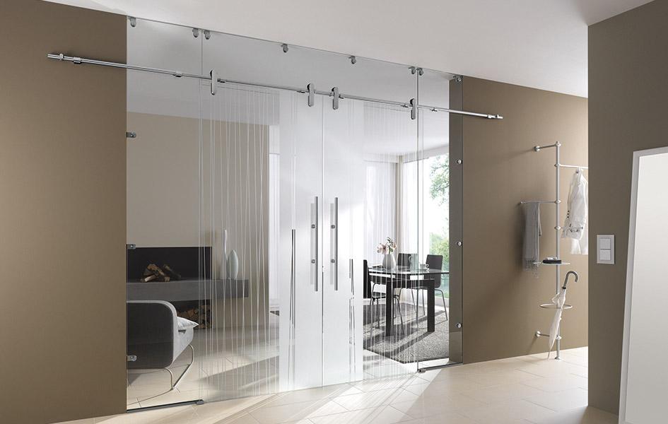 Lautlos gleitende Glasschiebetüren | HolzLand Stoellger in Langenhagen