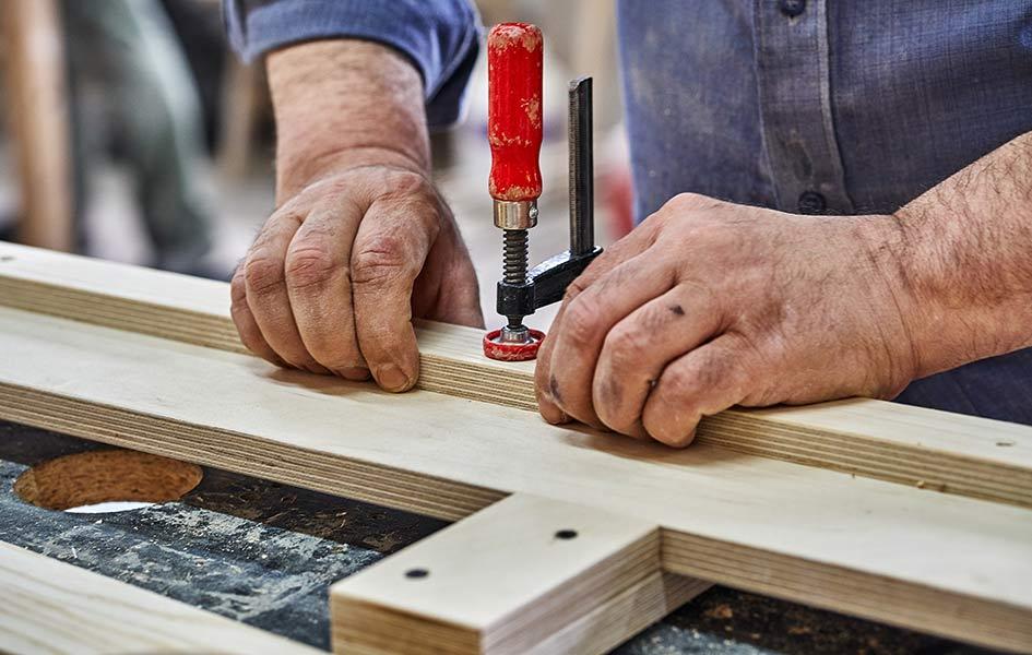 Mehrschichtaufbau von Sperrholz | HolzLand Stoellger in Langenhagen