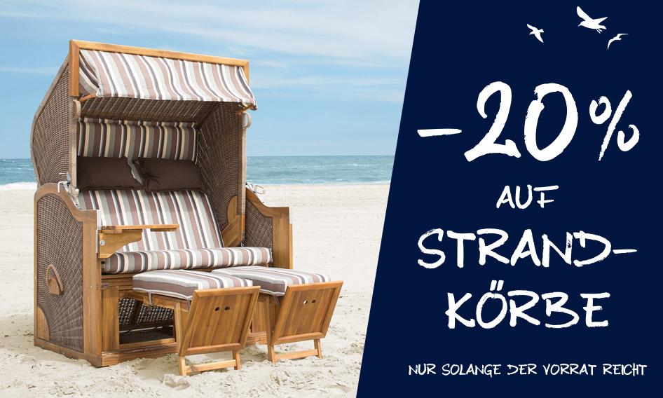 Strandkörbe fürs Urlaubsfeeling | HolzLand Stoellger in Langenhagen