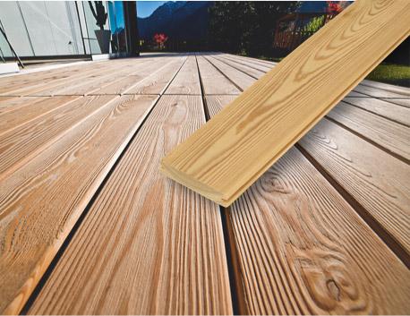 Terrassendielen aus Holz: Hochgebirgslärche | HolzLand Stoellger in Langenhagen