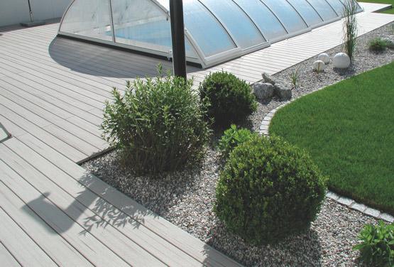 WPC-Terrasse Sand, Karle & Rubner | HolzLand Stoellger in Langenhagen
